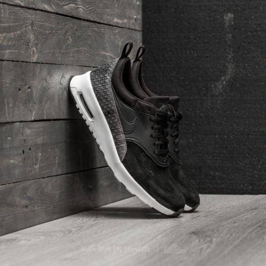 antecedentes Elegante Hecho de  Women's shoes Nike Wmns Air Max Thea Premium Black/ Black-Sail-Dark Grey