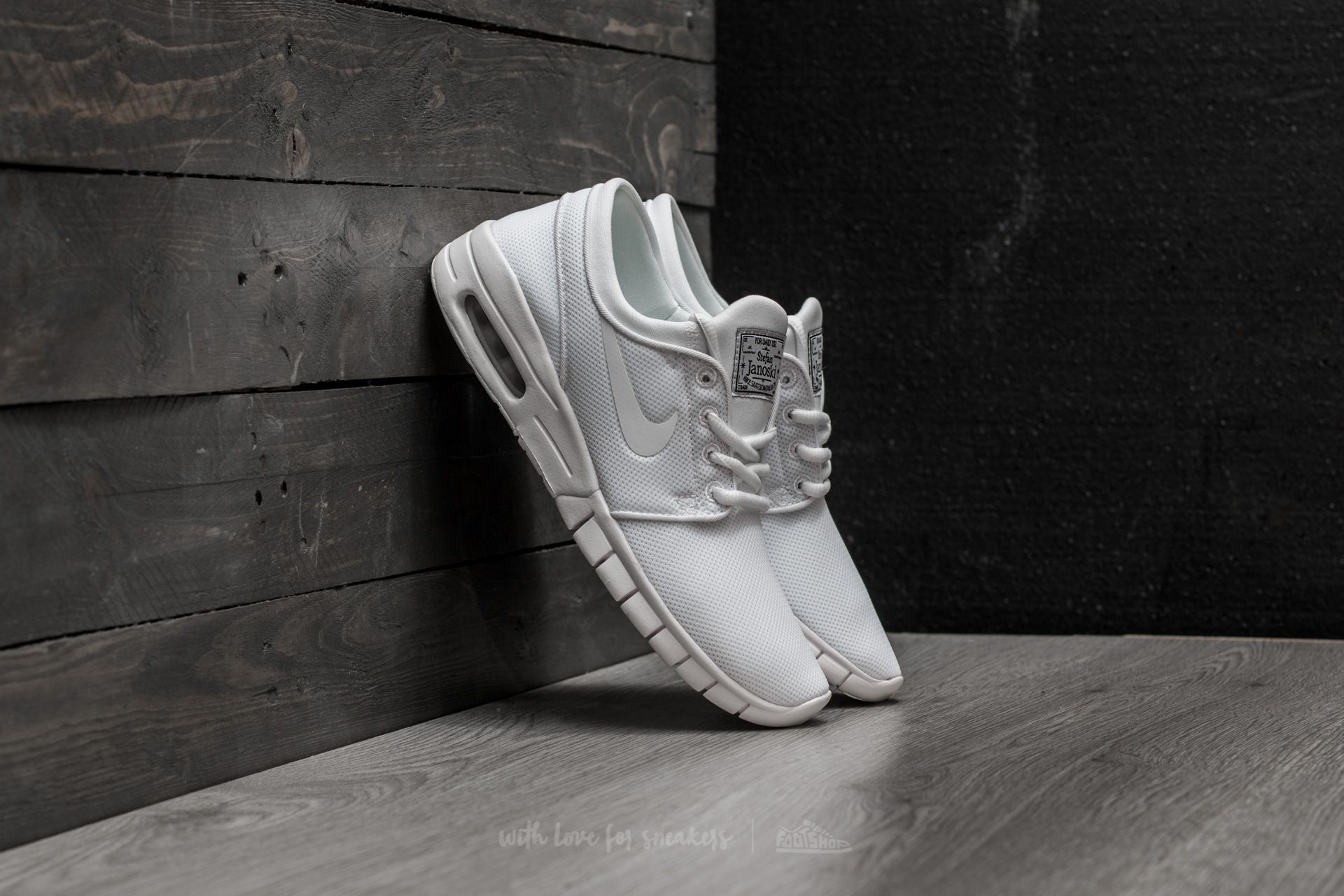 c6adc2a394 Nike Stefan Janoski Max (GS) White  White-White at a great price