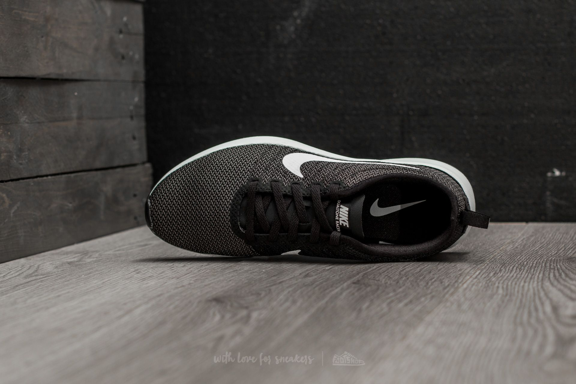 Nike Wmns Dualtone Racer Black  White-Dark Grey at a great price £54 b9777fac3b