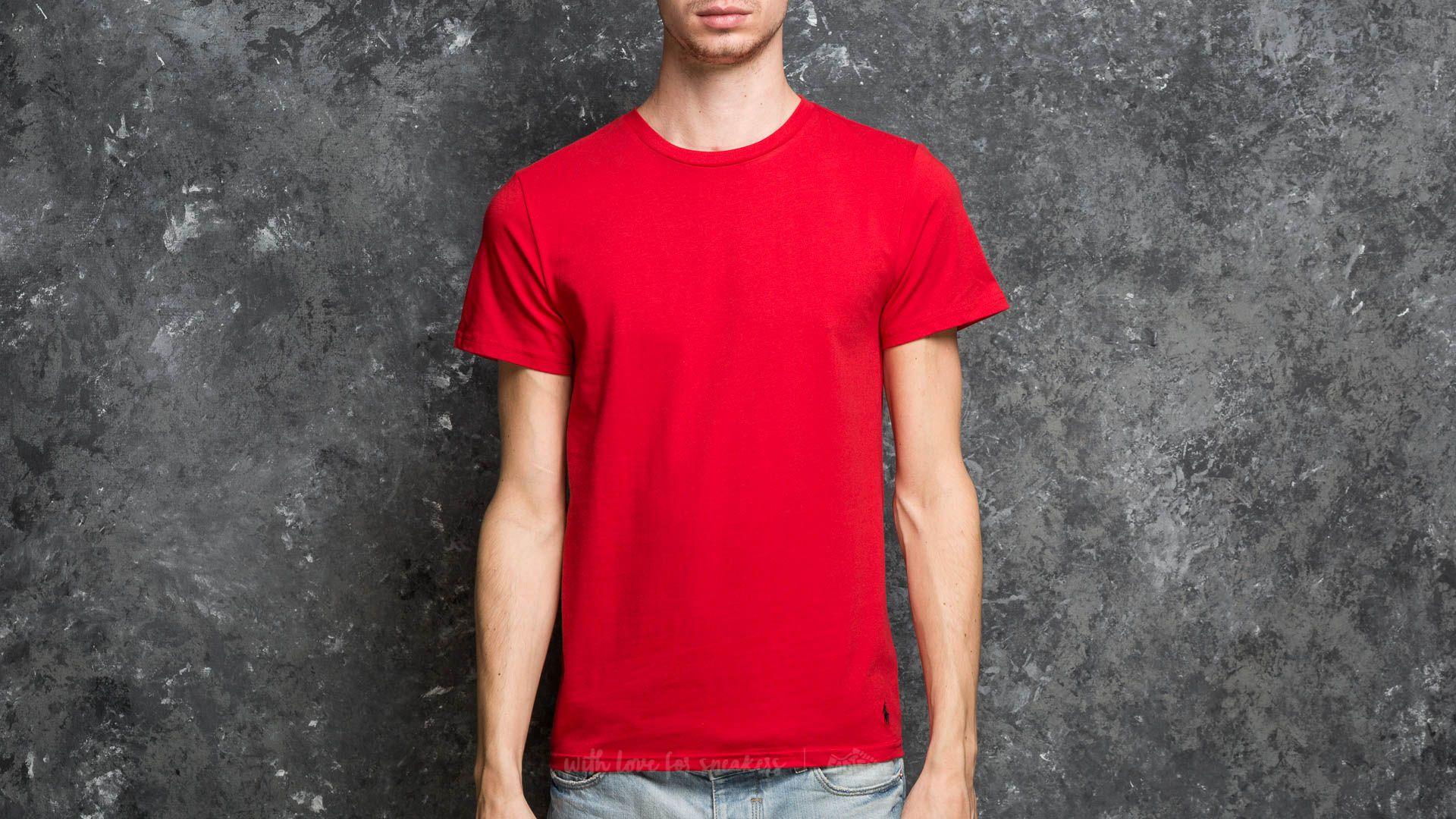Ralph Lauren Short Sleeve Crew Tee Red