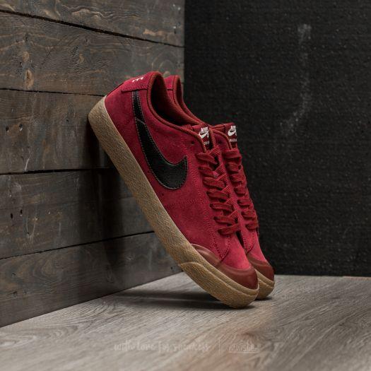 Nike SB Blazer Zoom Low XT Dark Team Red  Black  a258852d37ce