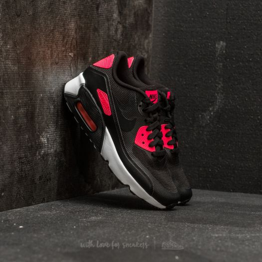 Nike Air Max 90 Ultra 2.0 (GS) Black Black Racer Pink White