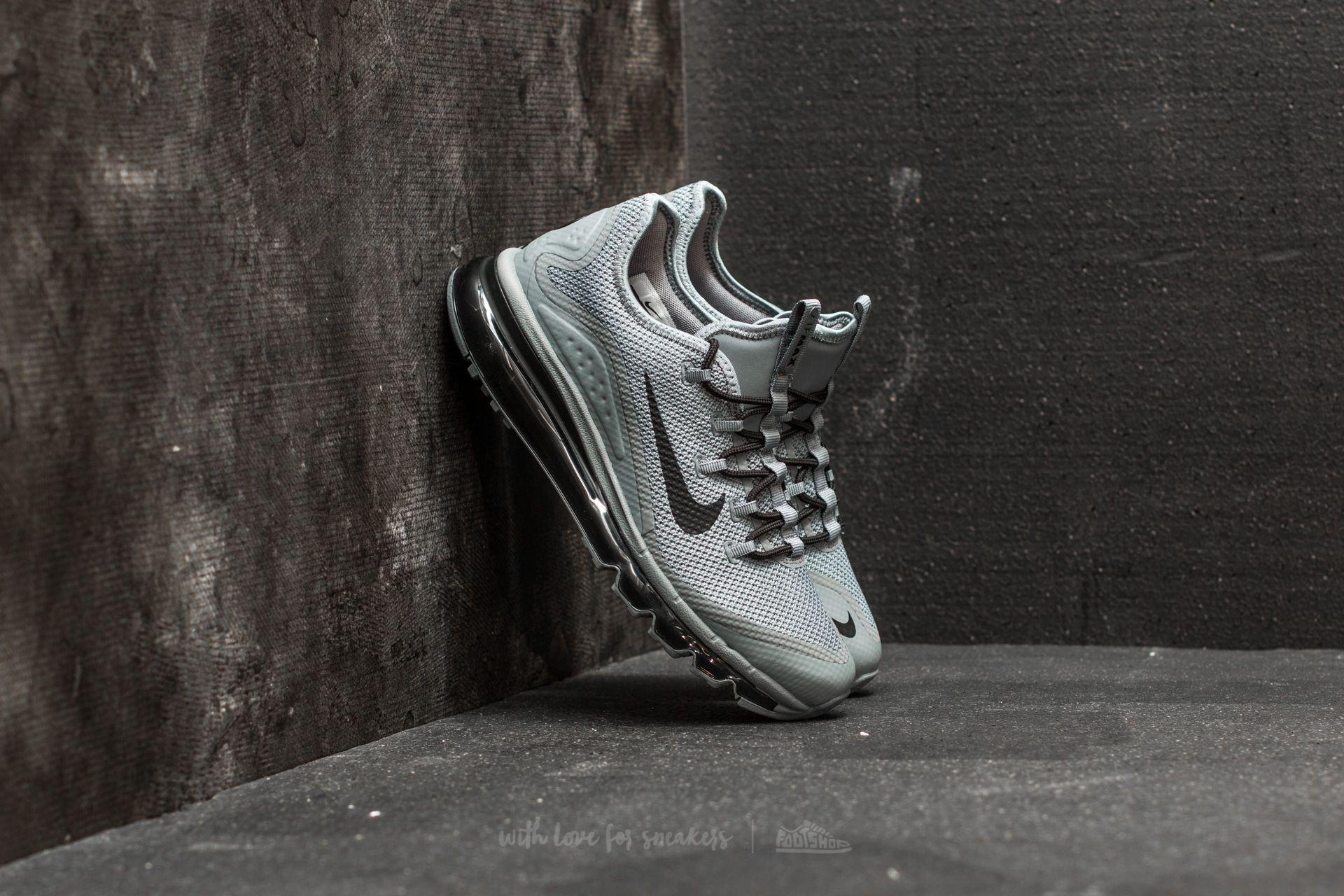 Nike Air Max More Cool Grey Black Cool Grey | Footshop