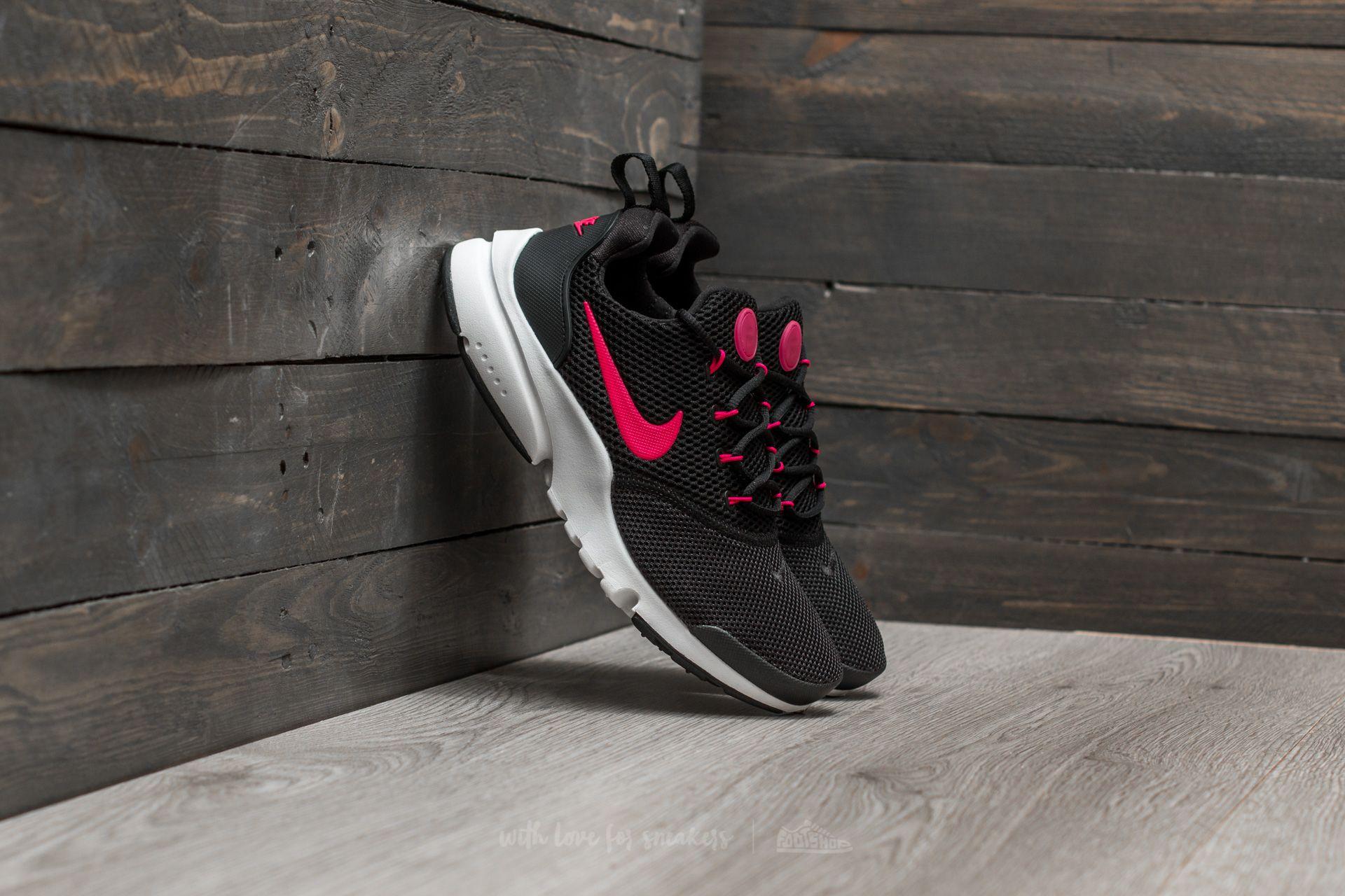 d5dd16b8f594 Nike Presto Fly (GS) Black  Rush Pink-White