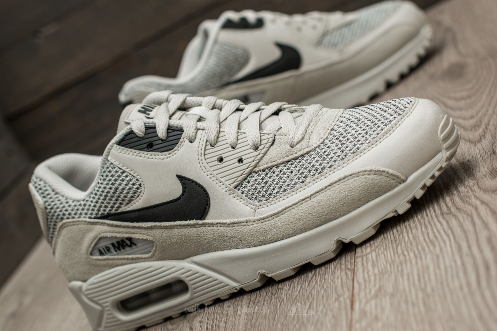 Nike Air Max 90 Essential Light Bone Black Black | Footshop