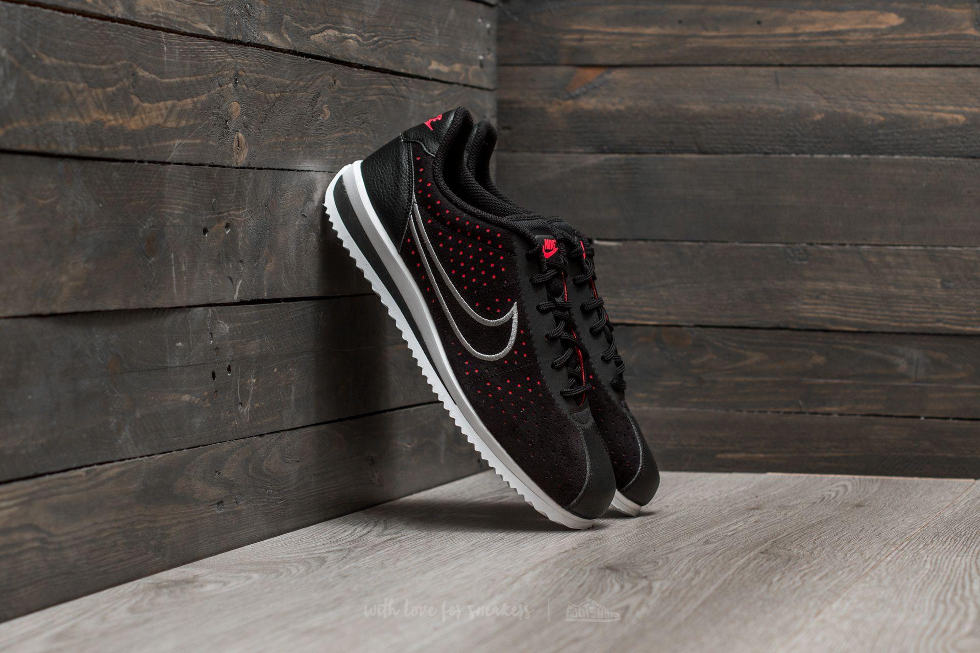 0e650c505 Nike Cortez Ultra Moire 2 Black/ Wolf Grey-Solar Red | Footshop