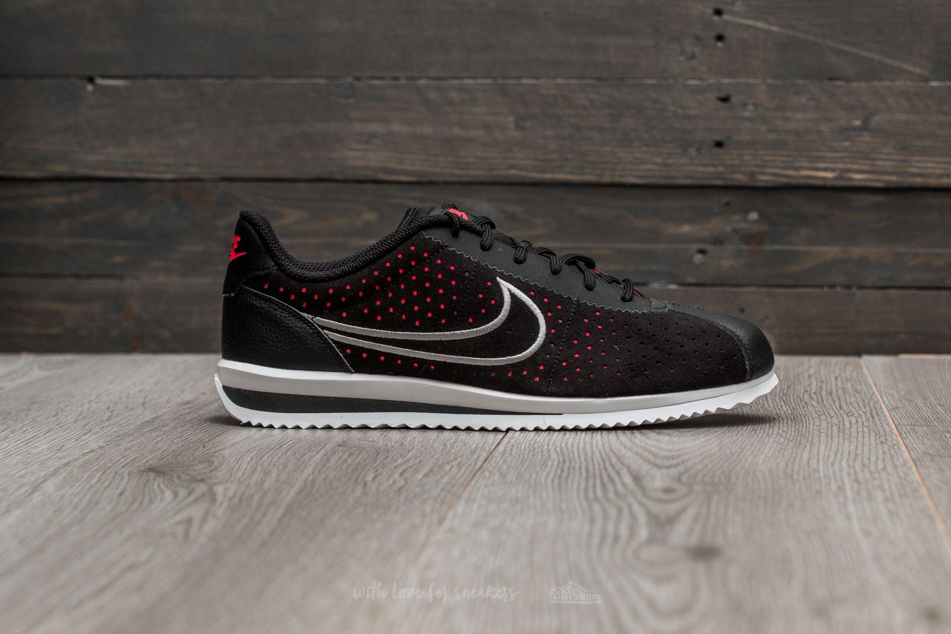 on sale 7194d 7dd0f Nike Cortez Ultra Moire 2 Black/ Wolf Grey-Solar Red | Footshop
