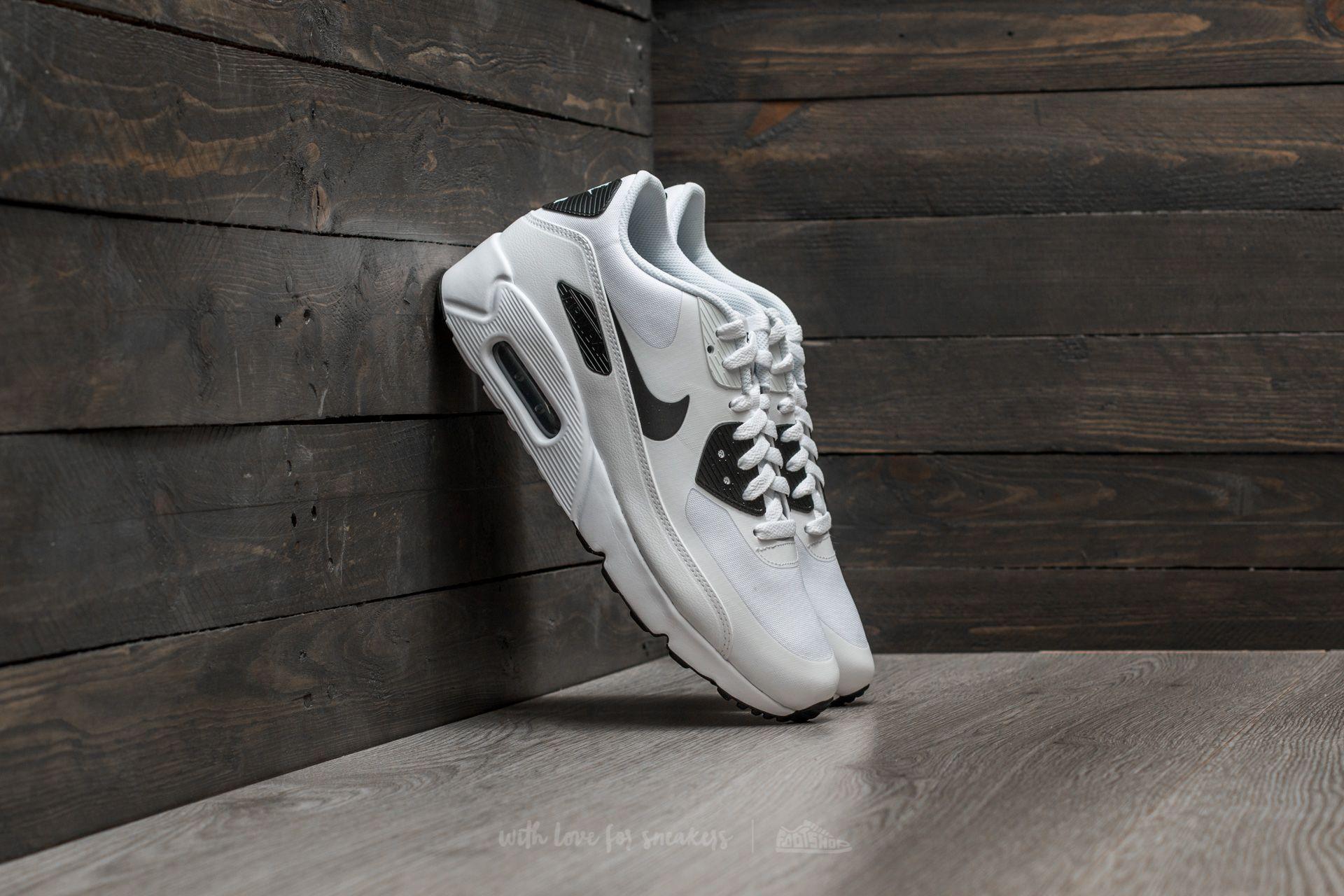 finest selection ac635 c7fb0 Nike Air Max 90 Ultra 2.0 Essential White/ Black-Black ...
