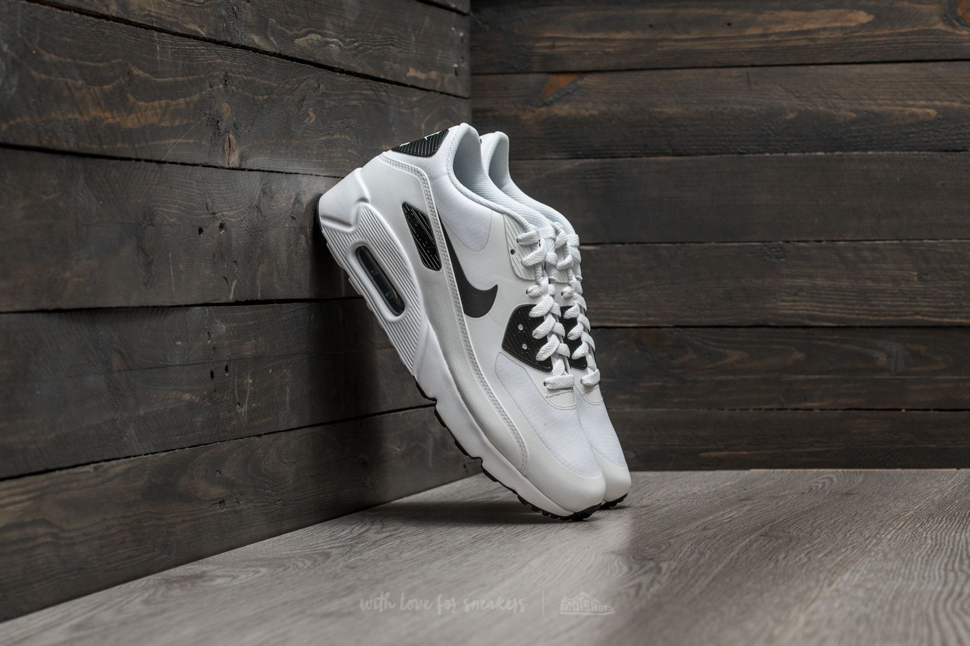 Nike Air Max 90 Ultra 2.0 Essential White  Black-Black  5f6733320bc2
