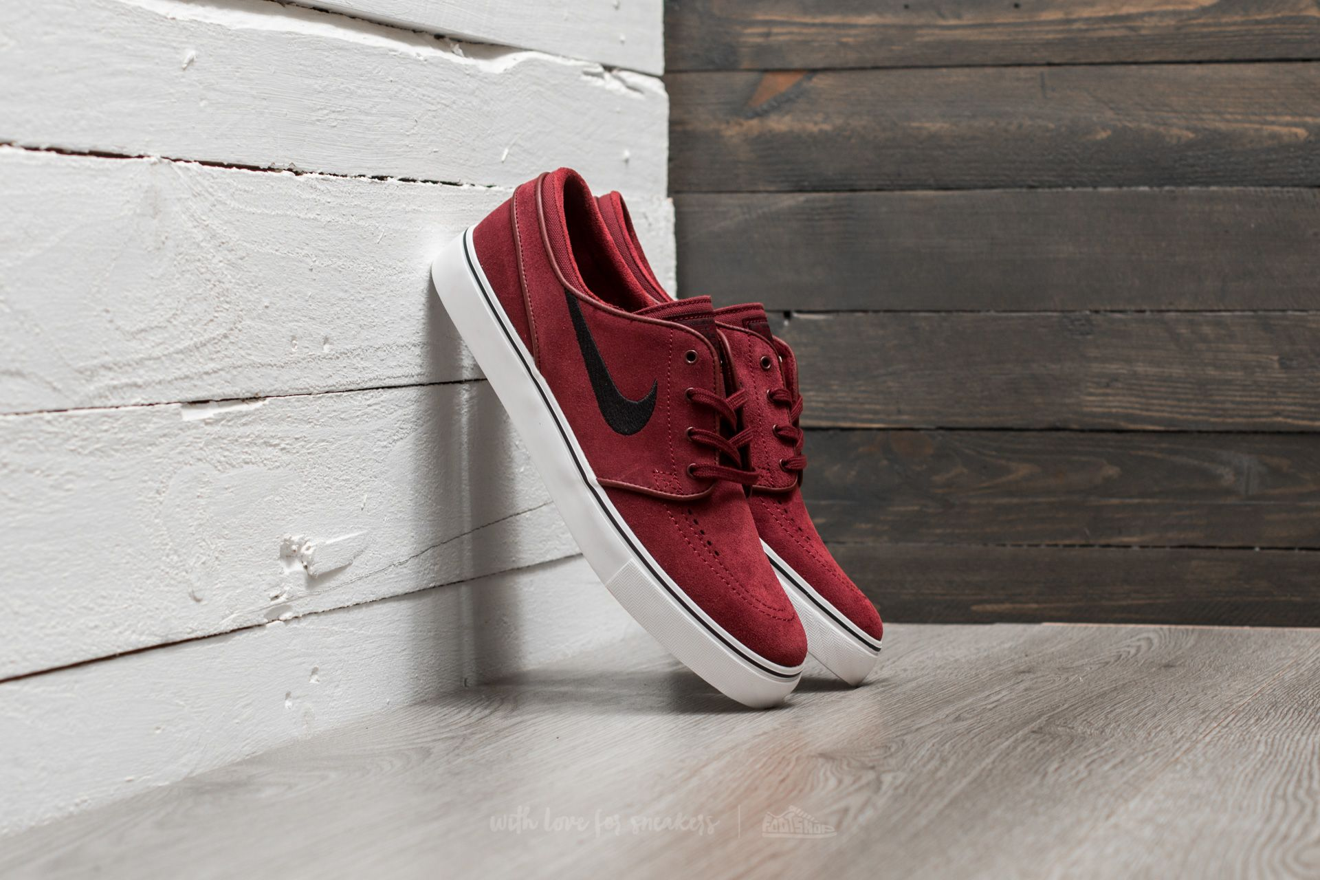 deseo aceptar Tierras altas  Men's shoes Nike Zoom Stefan Janoski Dark Team Red/ Black