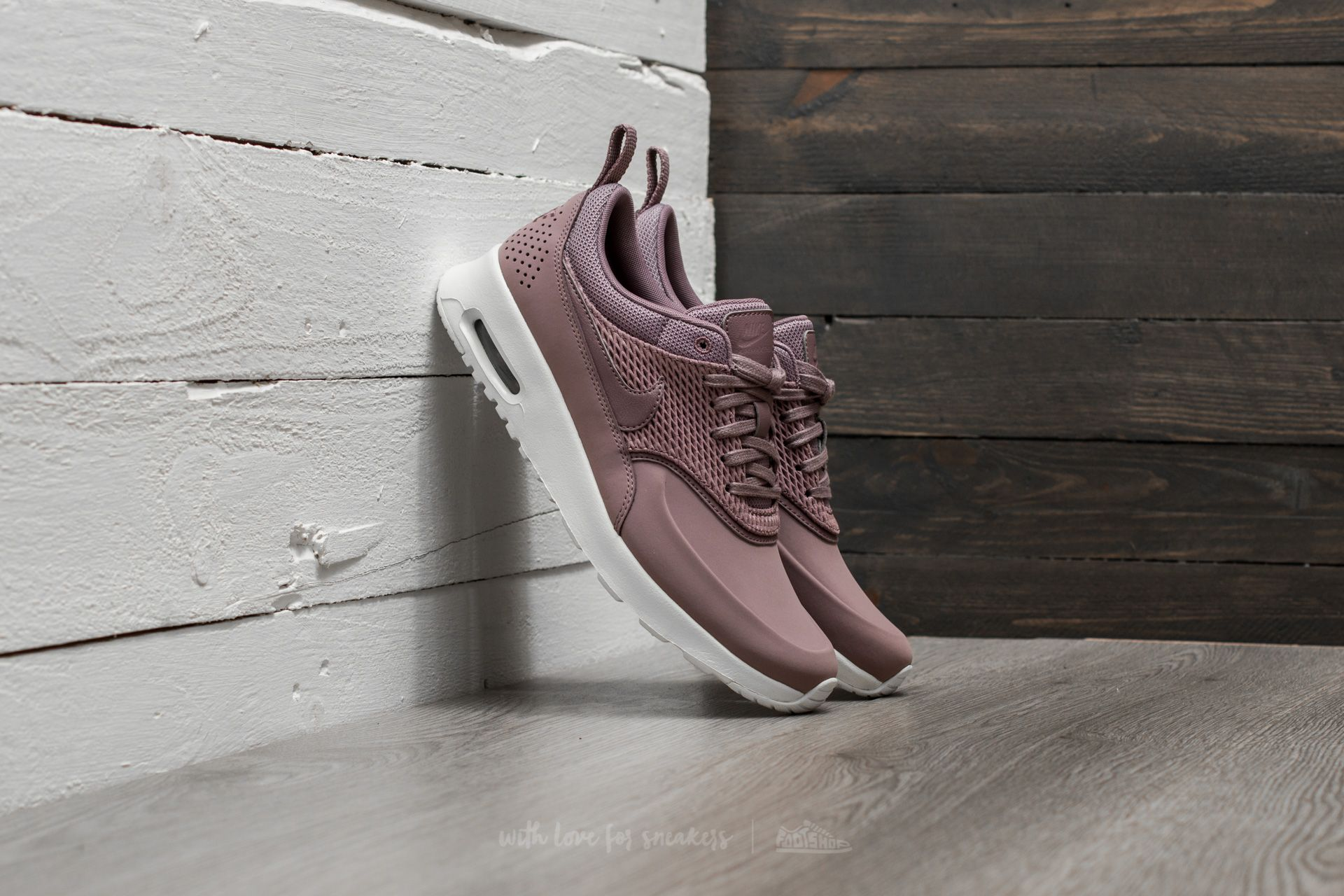 Nike Wmns Air Max Thea Premium Leather Taupe Grey Taupe Grey Sail | Footshop