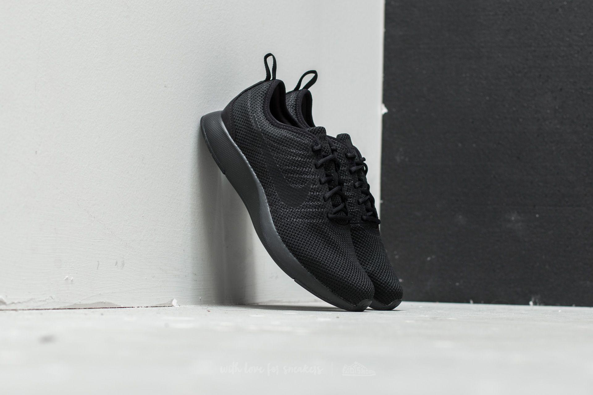 Nike Dualtone Racer (GS) Black  Black-Black  9007a14825