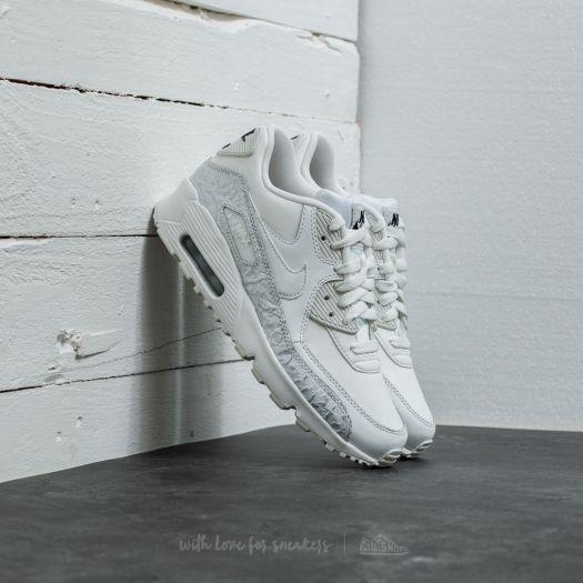 sale retailer 67f9c 6cafb Nike Air Max 90 Leather SE (GG) Summit White/ Summit White ...