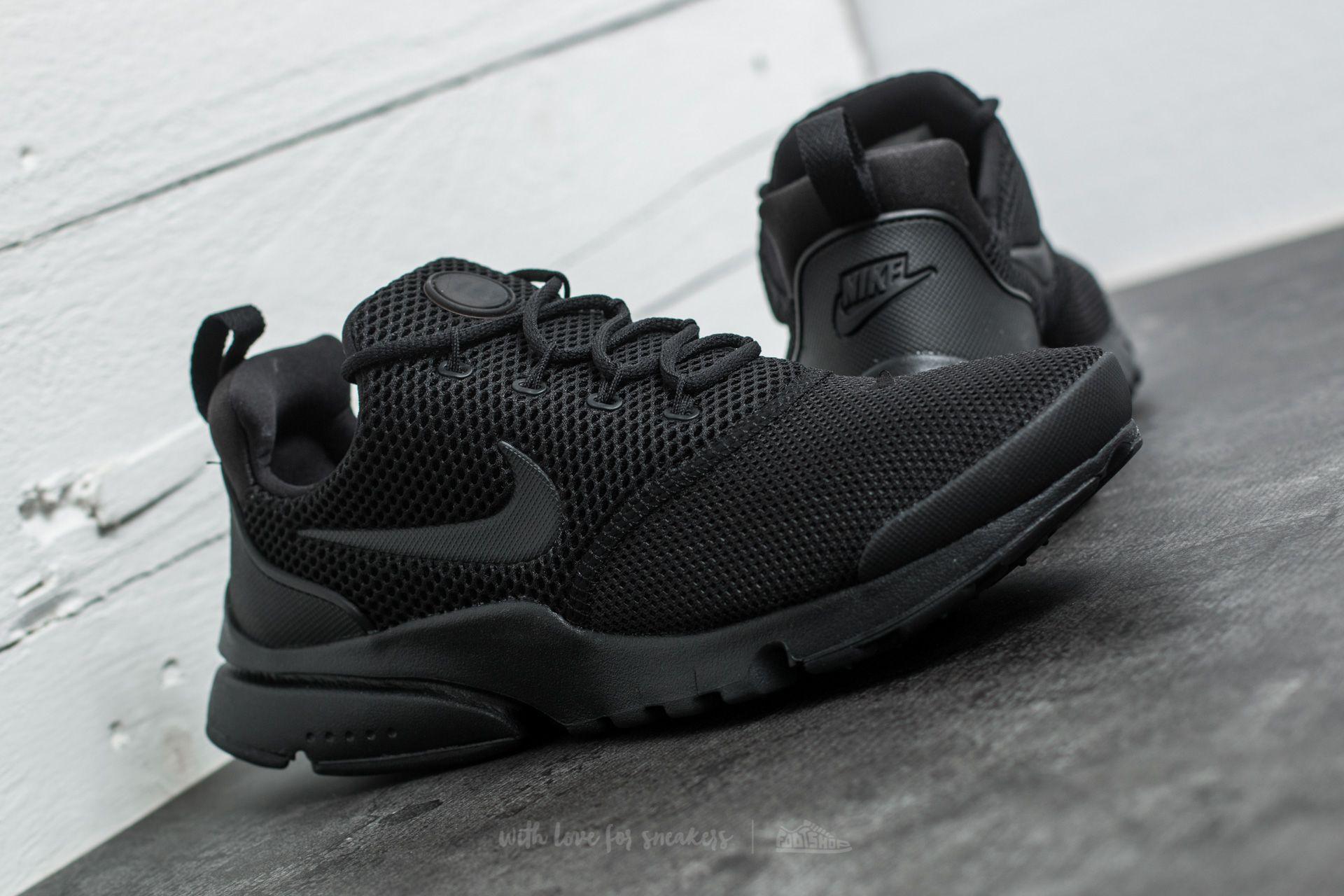 Nike Presto Fly (GS) Black Black Black | Footshop