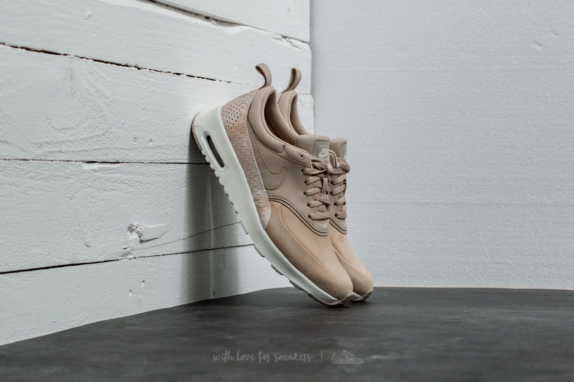 Nike Wmns Air Max Thea Premium Linen/ Linen-Sail | Footshop