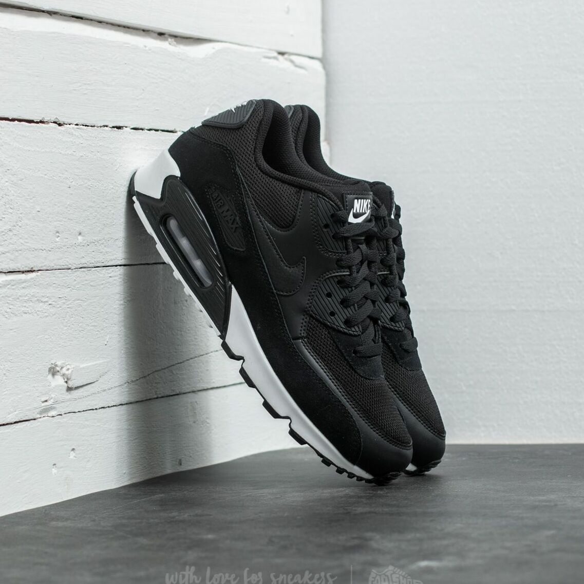 Nike Air Max 90 Essential Black/ Black-White EUR 45