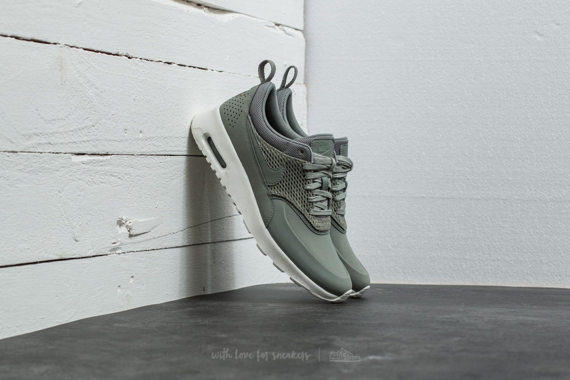9c1de4744d Nike Wmns Air Max Thea Premium Leather Dark Stucco/ Dark Stucco ...