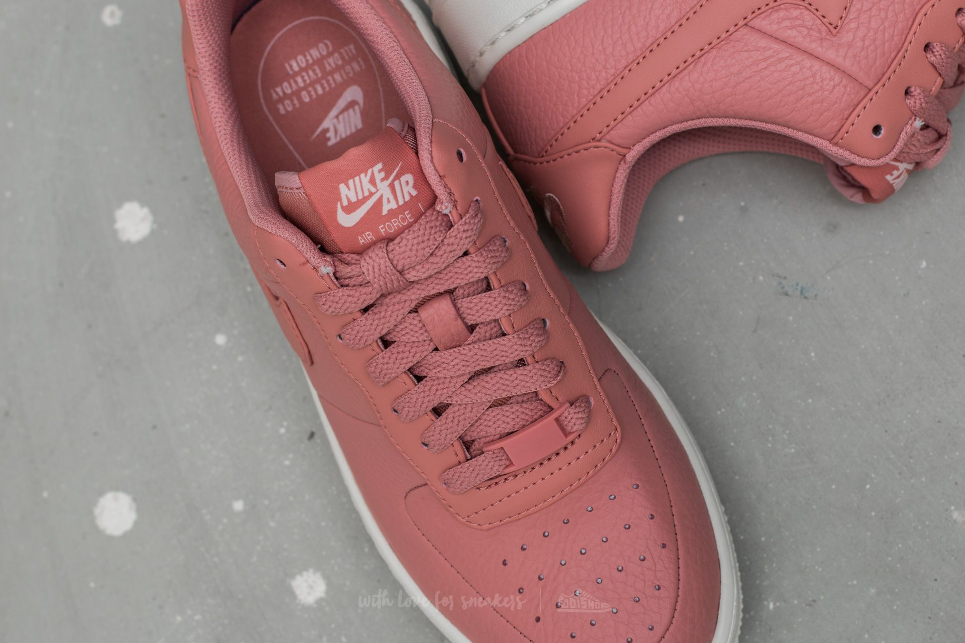 Nike W Air Force 1 Upstep Red Stardust Red Stardust | Footshop