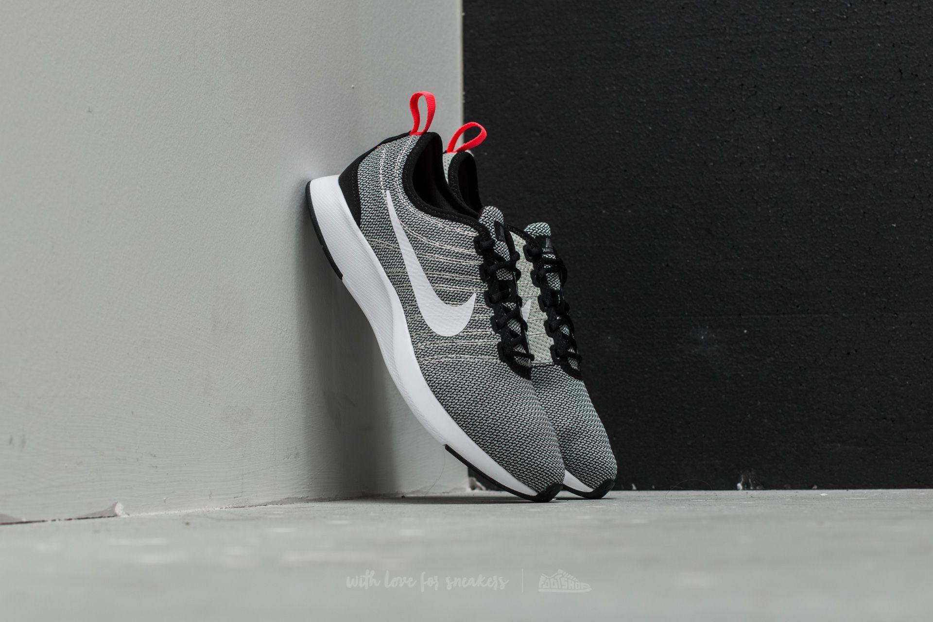 Nike Dualtone Racer (GS) Black  White-Pale Grey  187e36322f