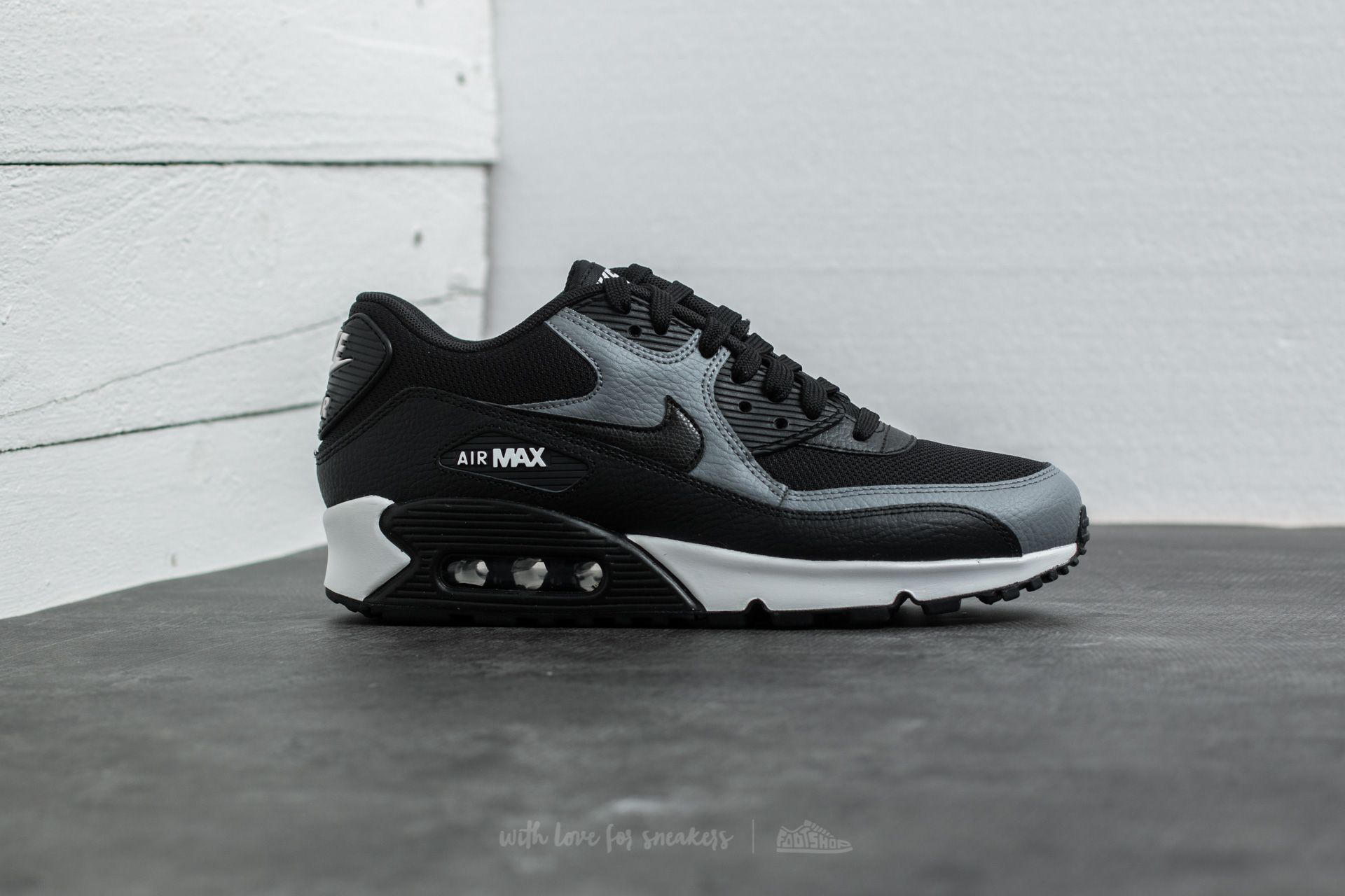 Nike Wmns Air Max 90 Black Black Cool Grey Black | Footshop