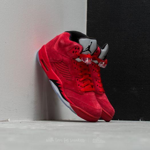 Air Jordan 5 Retro University Red Black   Footshop