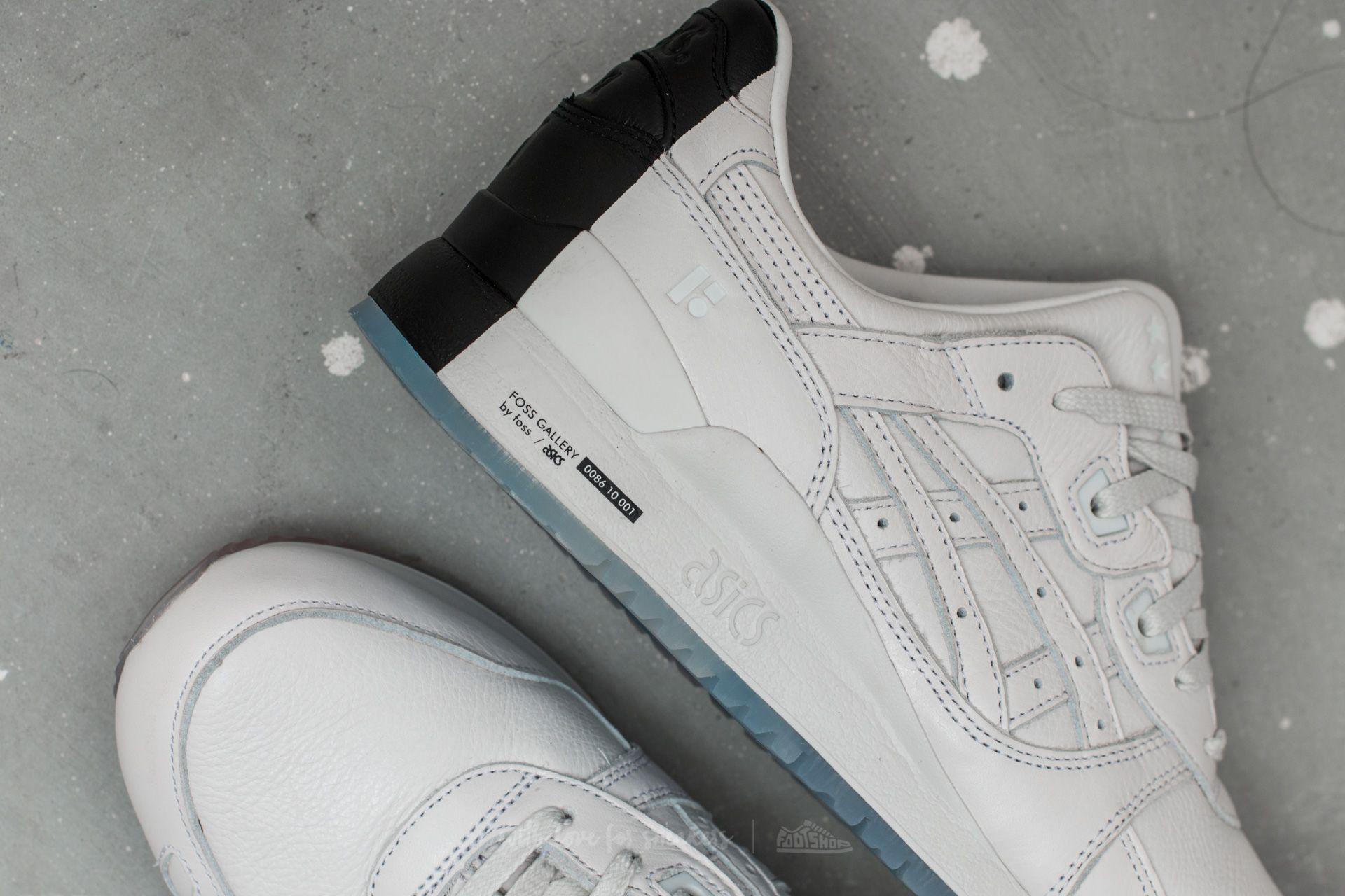 finest selection 13df9 c7400 Asics Gel-Lyte III x FOSS White/ White | Footshop