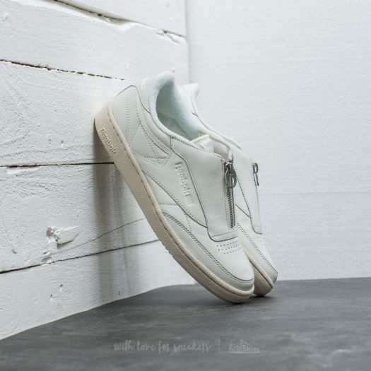 factory outlet a few days away free shipping Reebok Club C 85 Zip Chalk/ Sandstone/ White/ Silver | Footshop