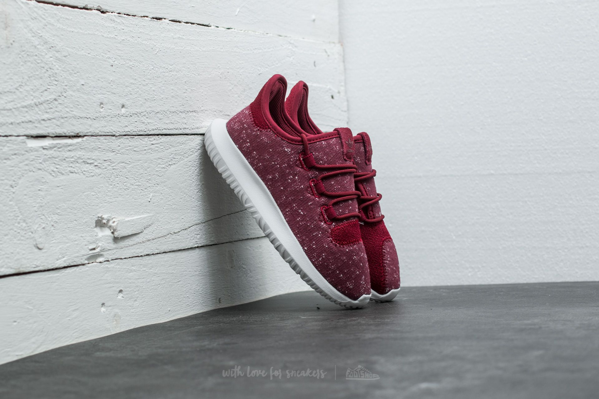 adidas Tubular Shadow C Collegiate Burgundy Collegiate