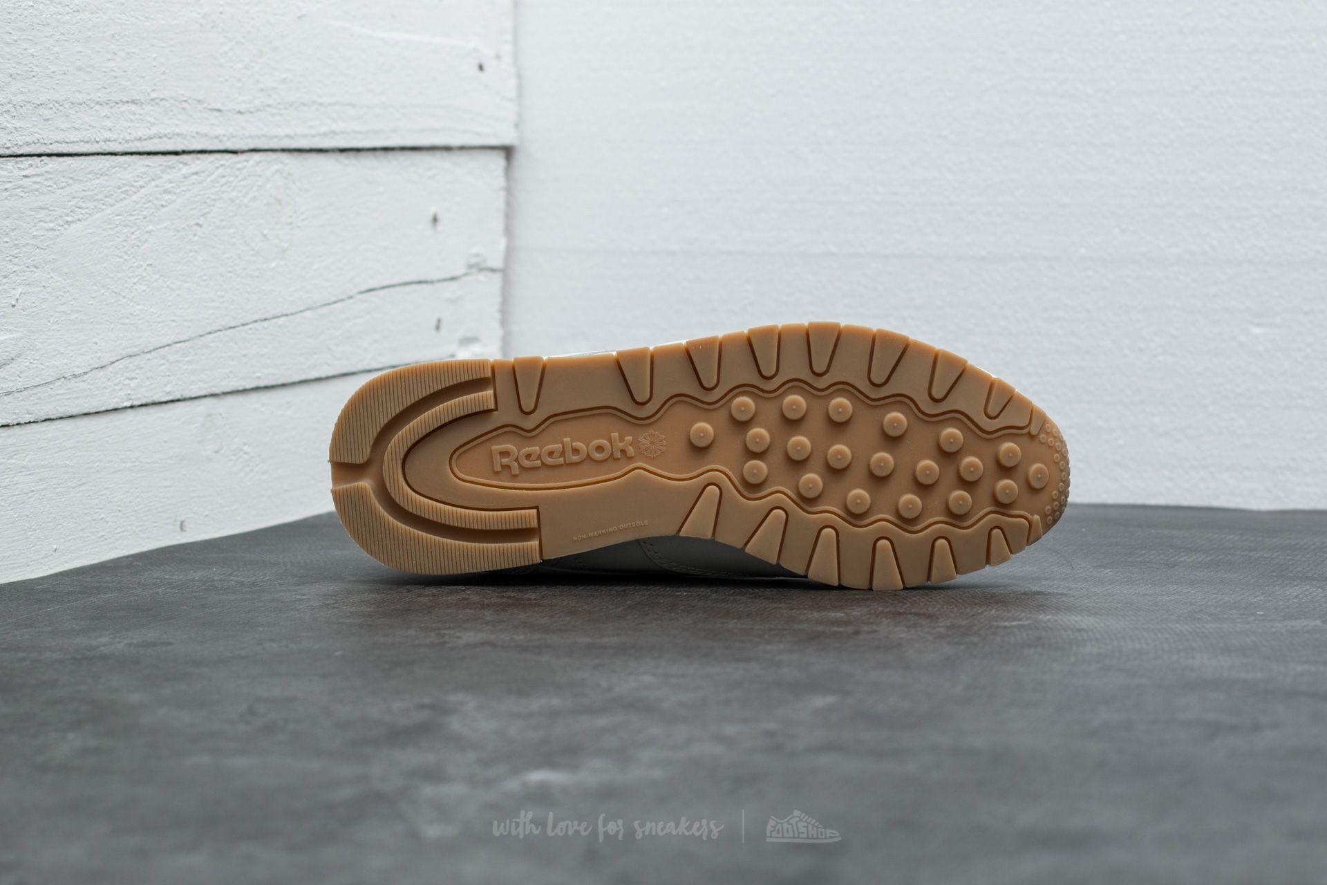 Classic Sandstone Chalk Zip Silver Leather Footshop Reebok PpwIqBdxP