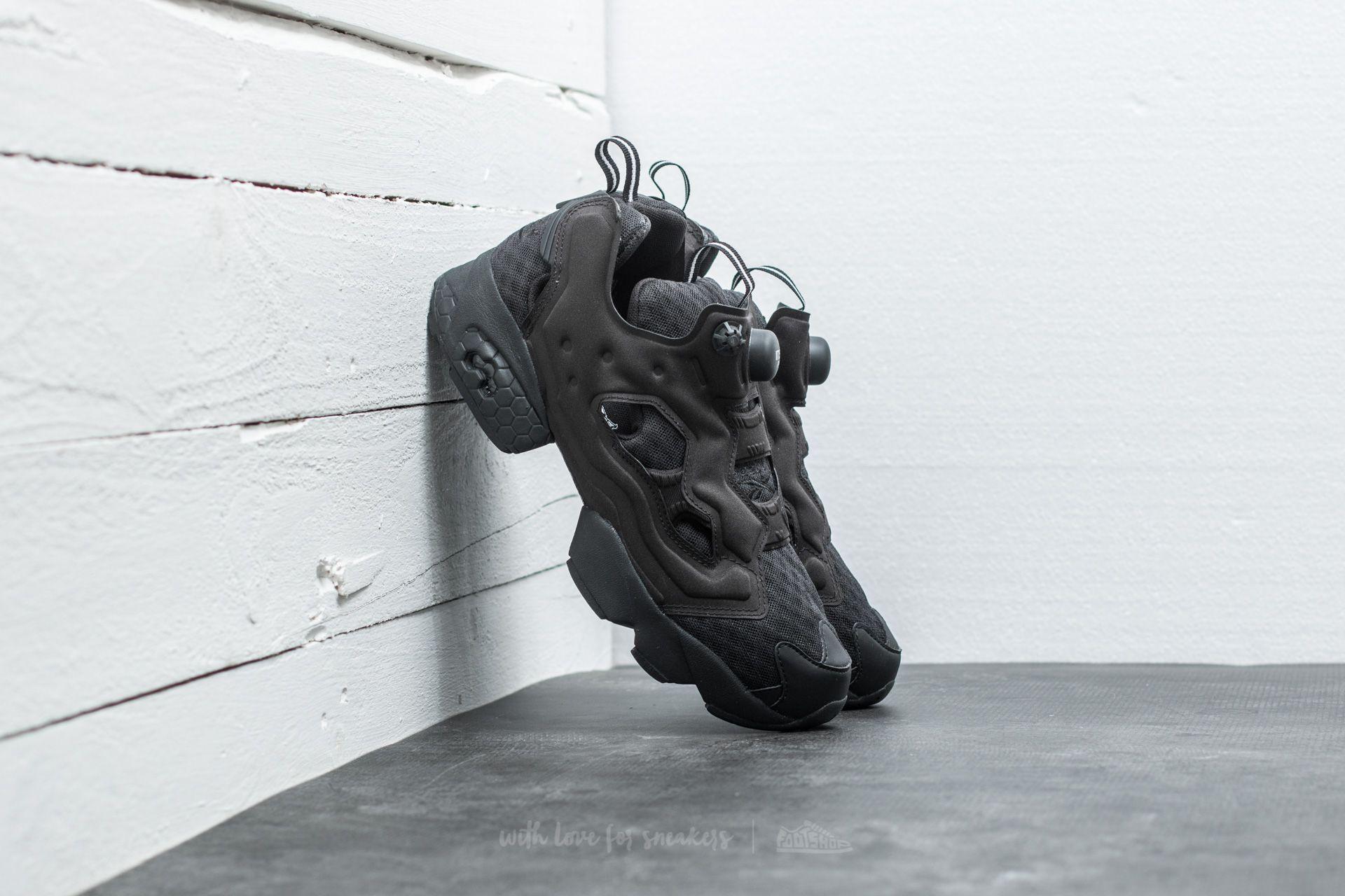 Nublado Sobrevivir lluvia  Men's shoes Reebok Instapump Fury OG CC Black/ White