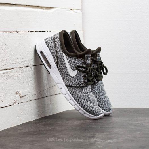 Nike Sb Janoski Air Max Sequoia Weiß & Gold Skate Schuhe