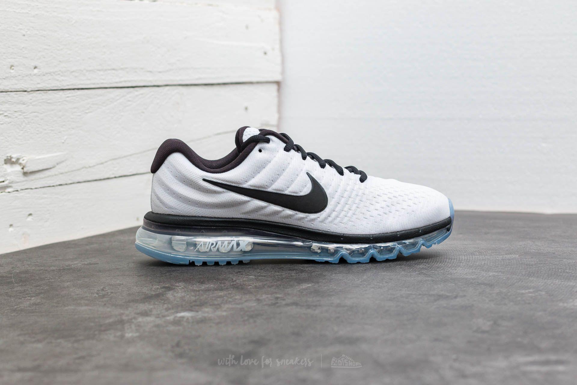 Nike Air Max 2017 White Black | Footshop