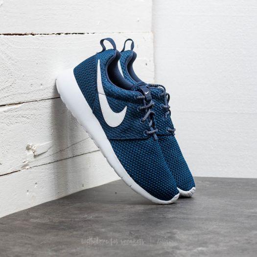 apasionado Dirección Ahuyentar  Zapatillas mujer Nike Roshe One (GS) Midnight Navy/ White-Gym Blue |  Footshop