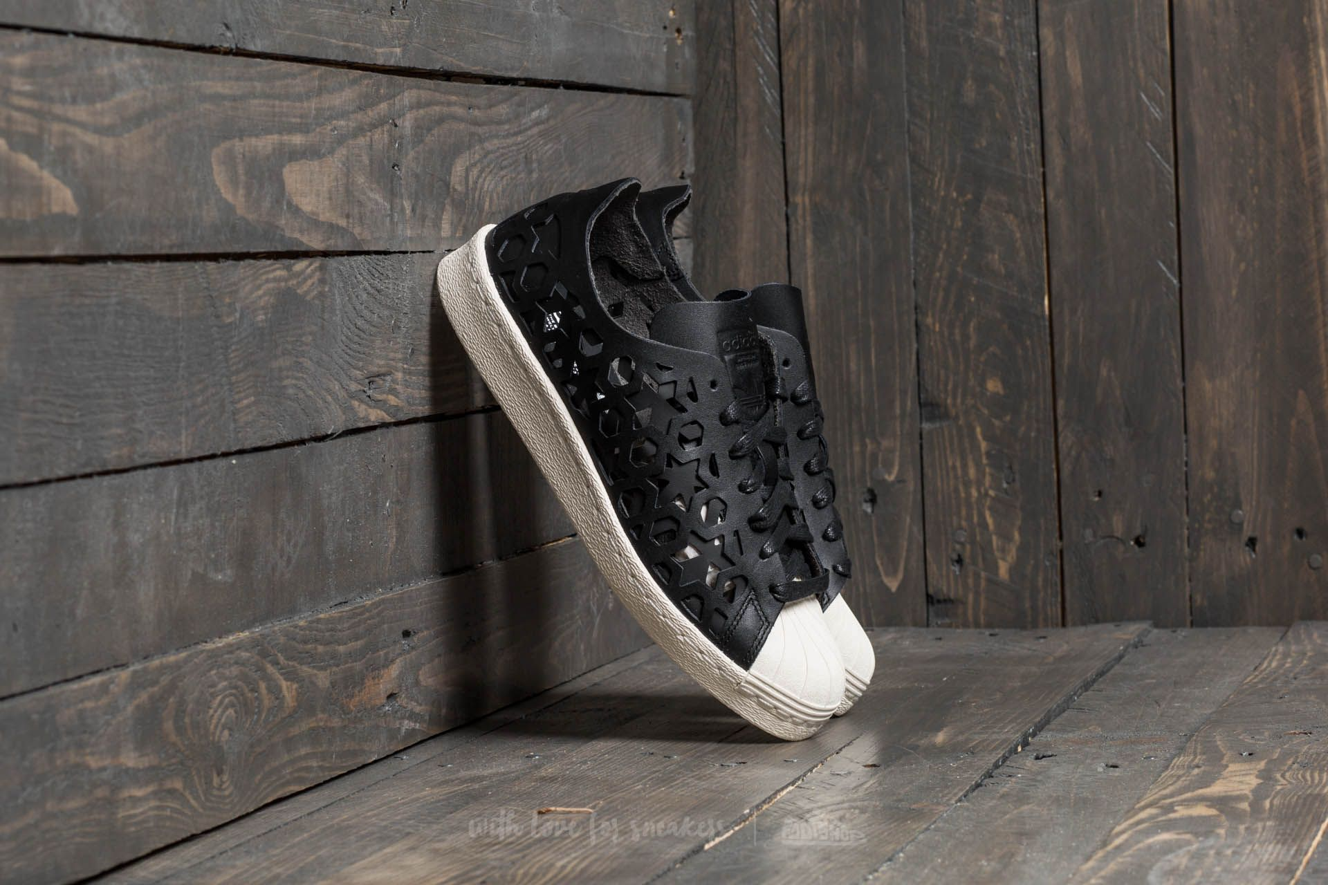 size 40 99204 dbeaf adidas Superstar 80s Cut Out W Core Black  Core Black  Off White