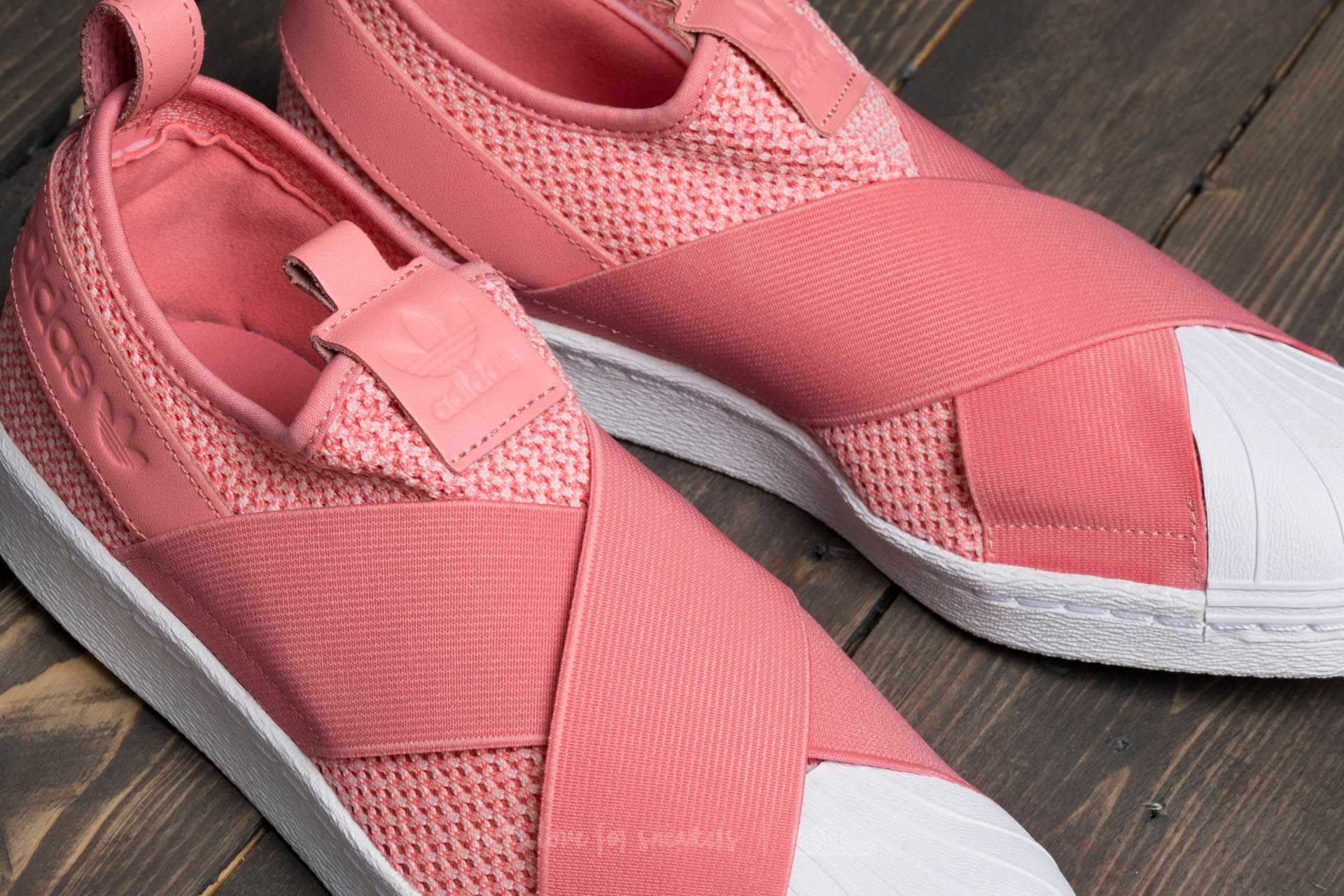 adidas Superstar Slip On W Tactile Rose Tactile Rose Footwear White | Footshop