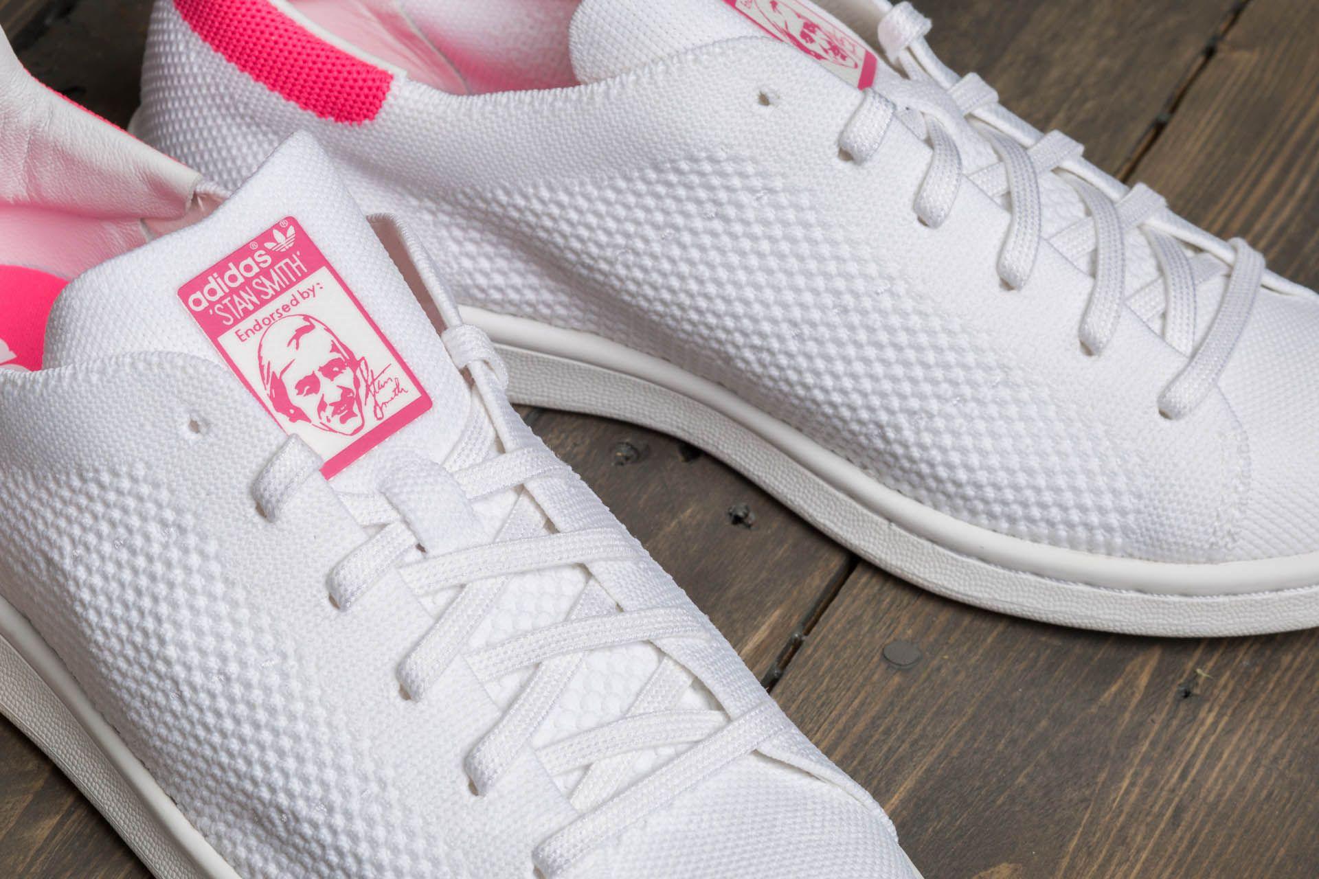 wholesale dealer 00e6f a4f27 adidas Stan Smith Primeknit Ftw White/ Ultra Pop | Footshop