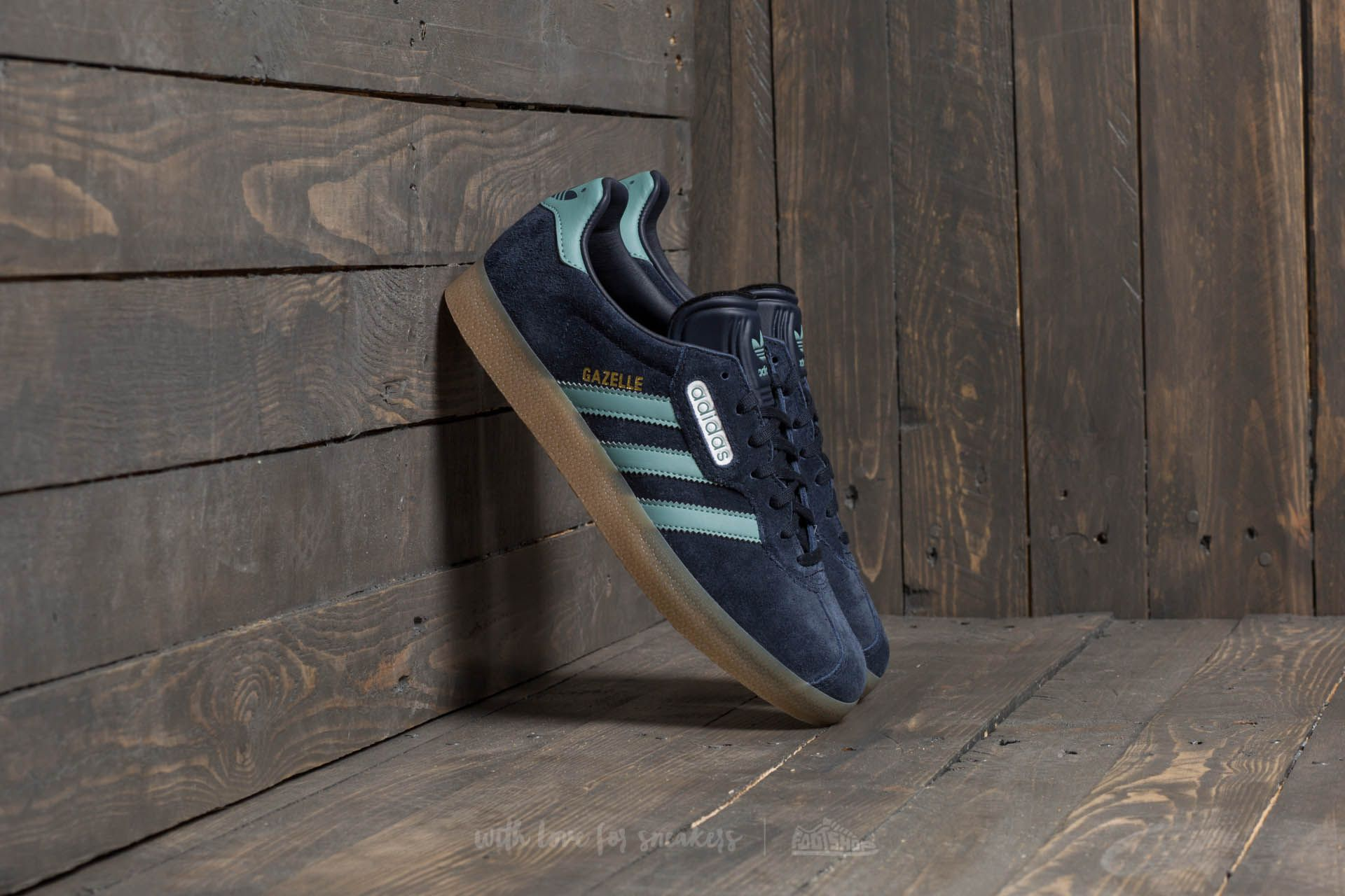 best website 5e113 cf400 adidas Gazelle Super. Night Navy Vapour Steel Gold Metalic
