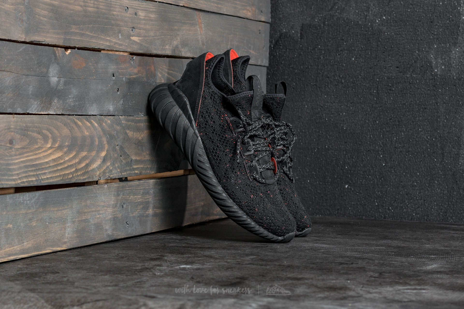 buy factory outlets special for shoe adidas Tubular Doom Sock Primeknit Core Black/ Core Black/ Trace ...