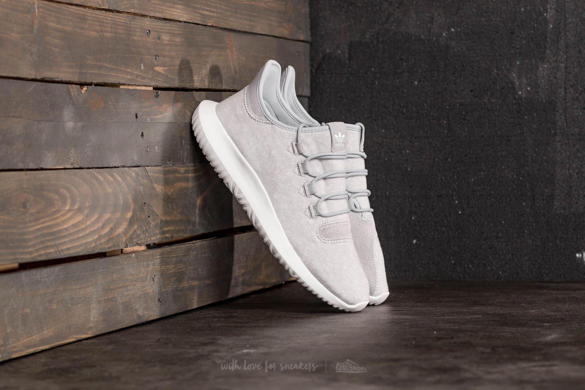 adidas Tubular Shadow Grey Two Crystal White Crystal White | Footshop