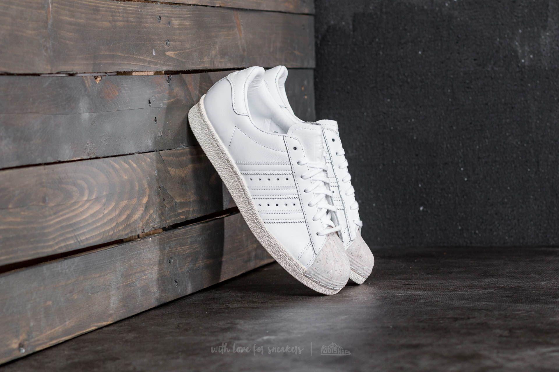 adidas Superstar 80s Cork W Ftw White Ftw White Off White | Footshop