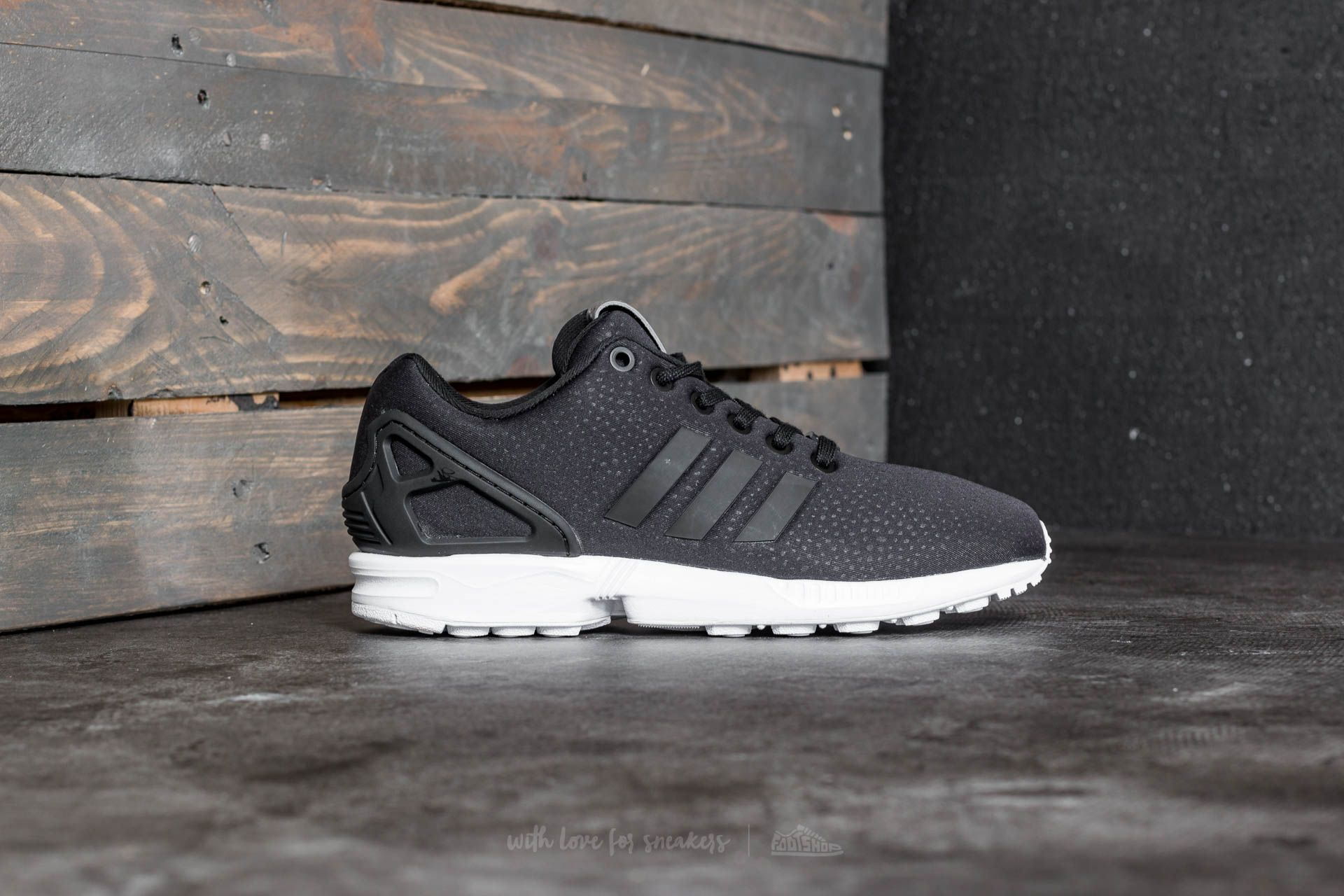 reputable site f6e0e 00674 adidas ZX Flux W Core Black  Core Black  Silver Metallic at a great price