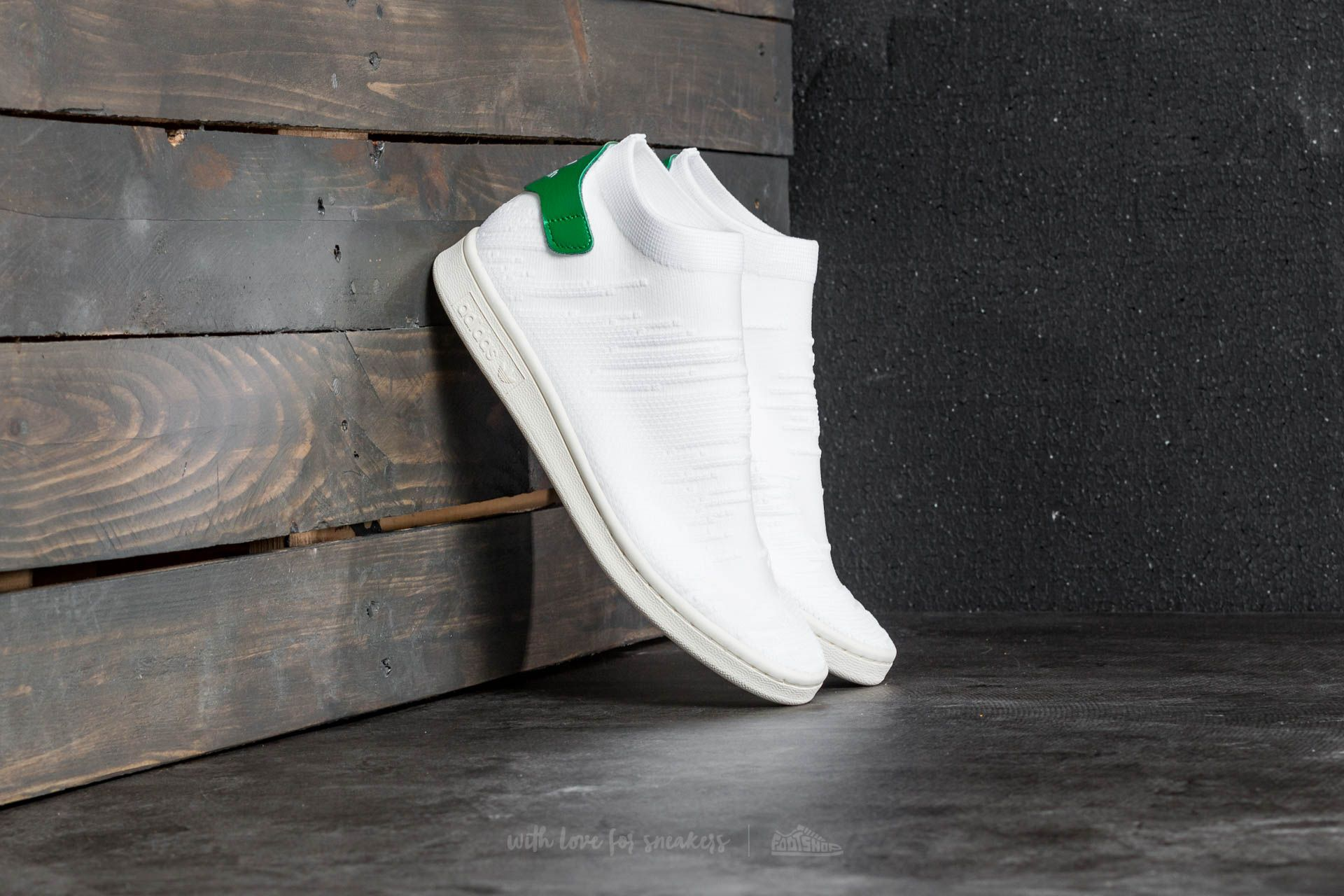 adidas stan smith primeknit sock