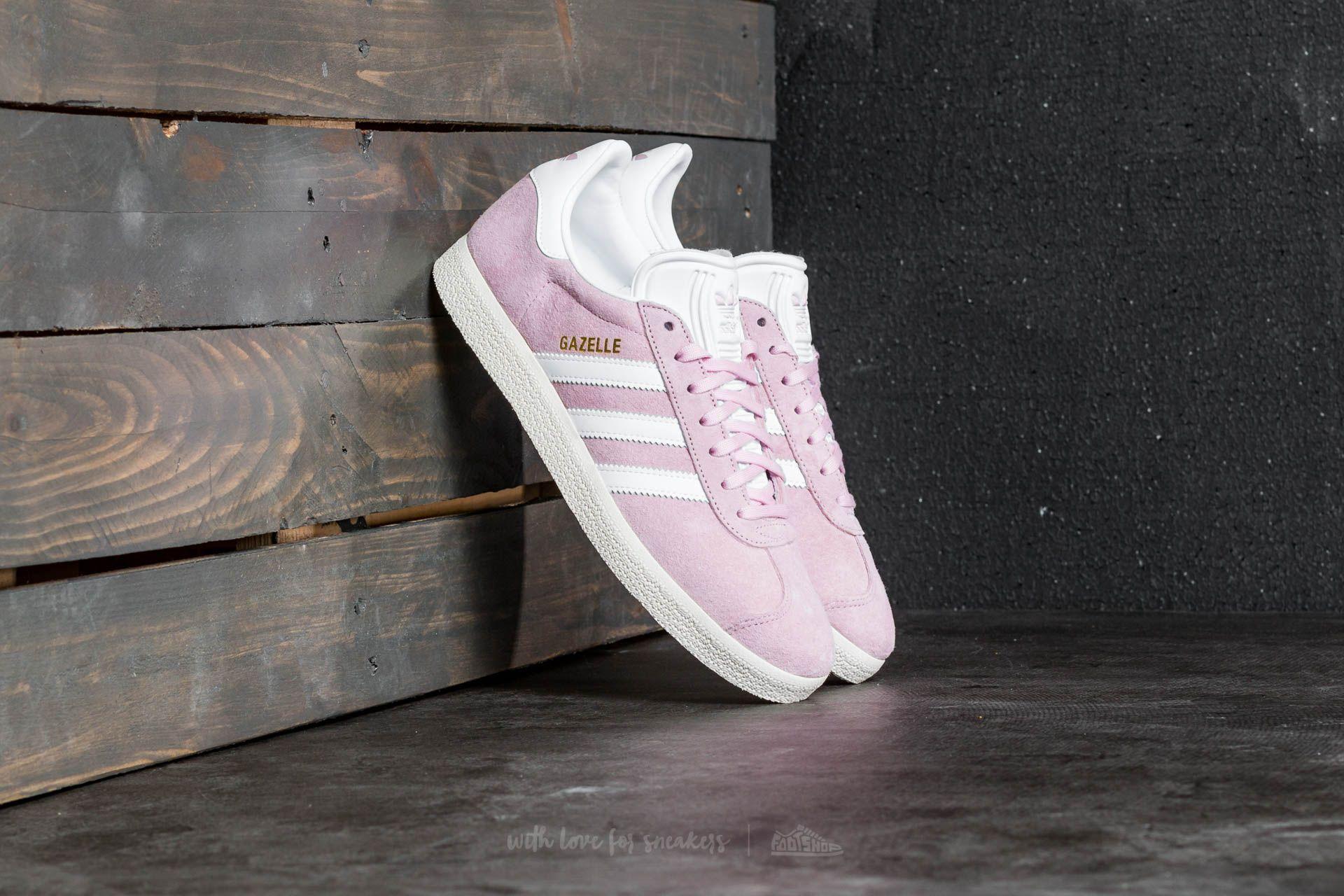 adidas Gazelle W Wonder Pink Ftw White Gold Metalic | Footshop