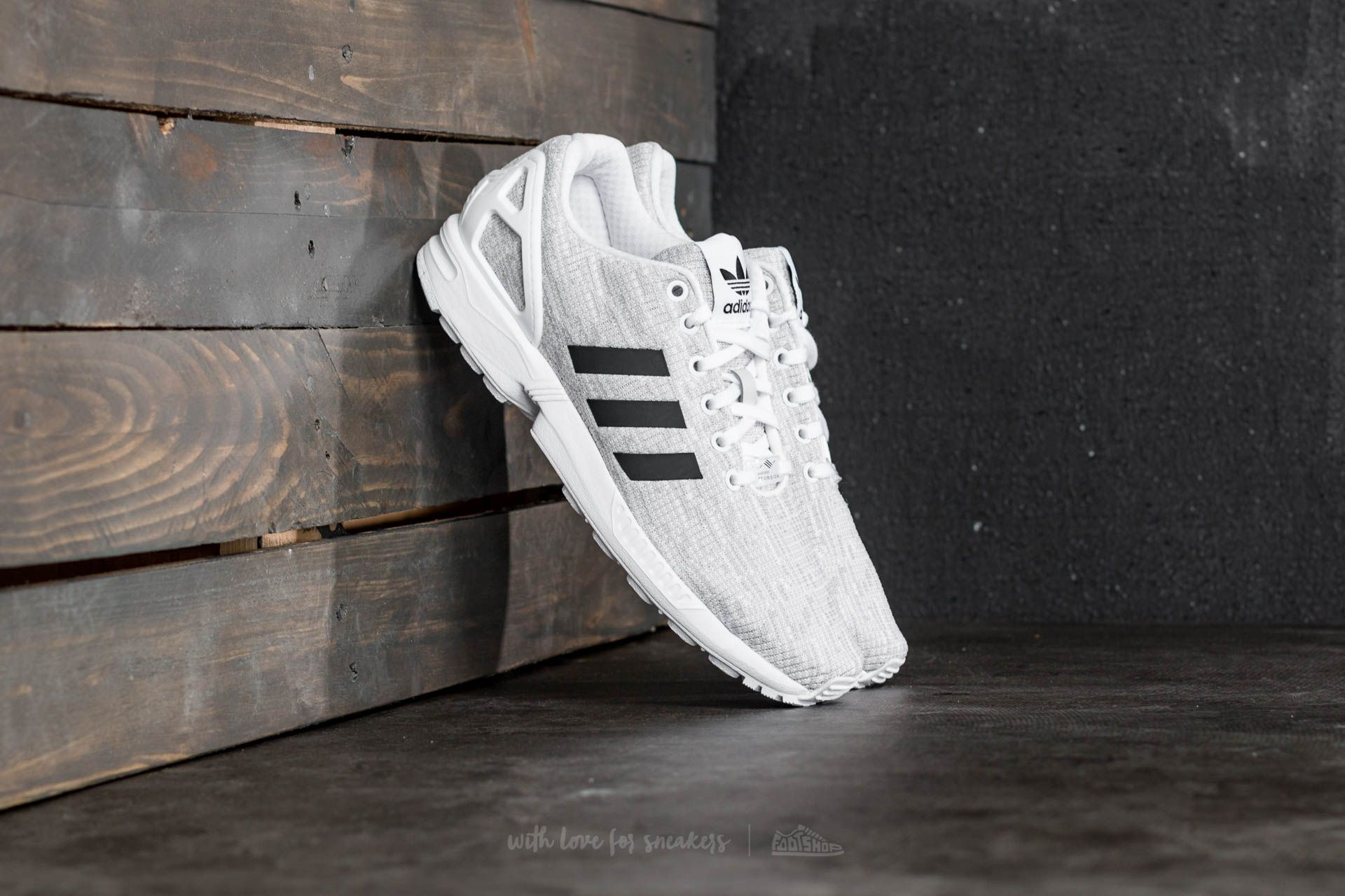 6e8bf3fbe9df4 adidas ZX Flux Ftw White  Core Black  Grey One