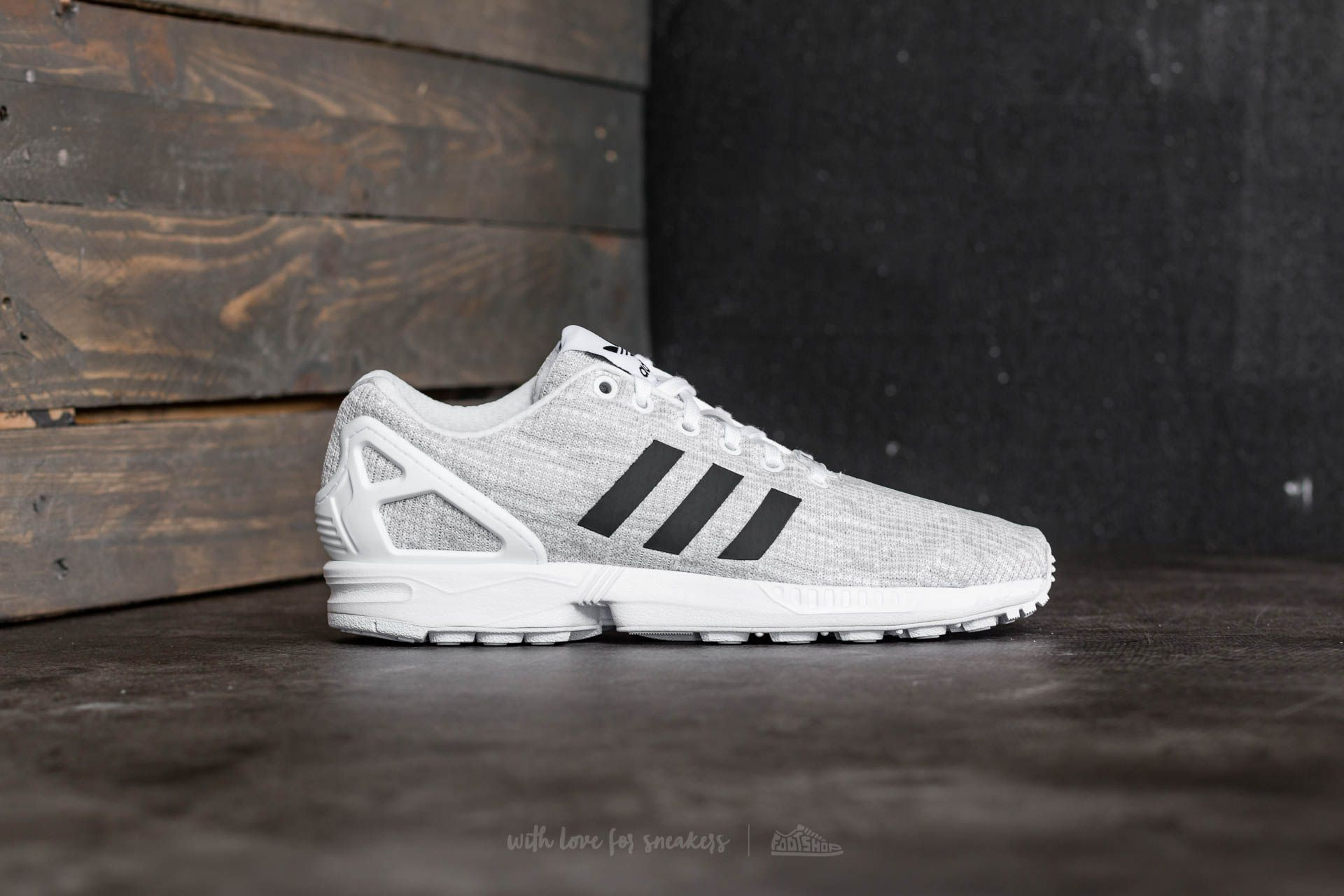 sports shoes 68cca 022a4 adidas ZX Flux Ftw White/ Core Black/ Grey One | Footshop