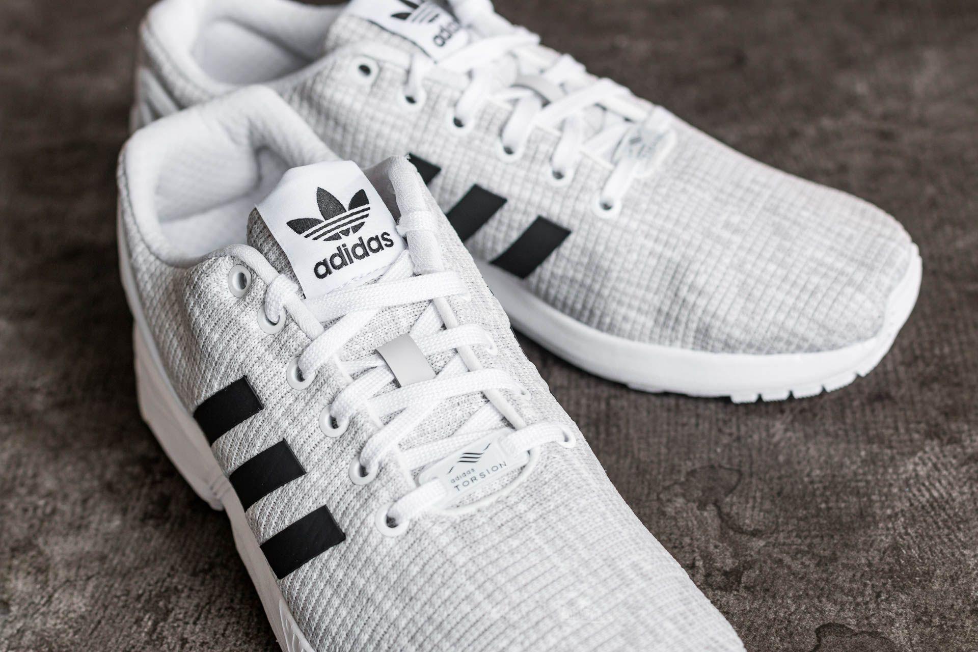 adidas ZX Flux Ftw White Core Black Grey One | Footshop