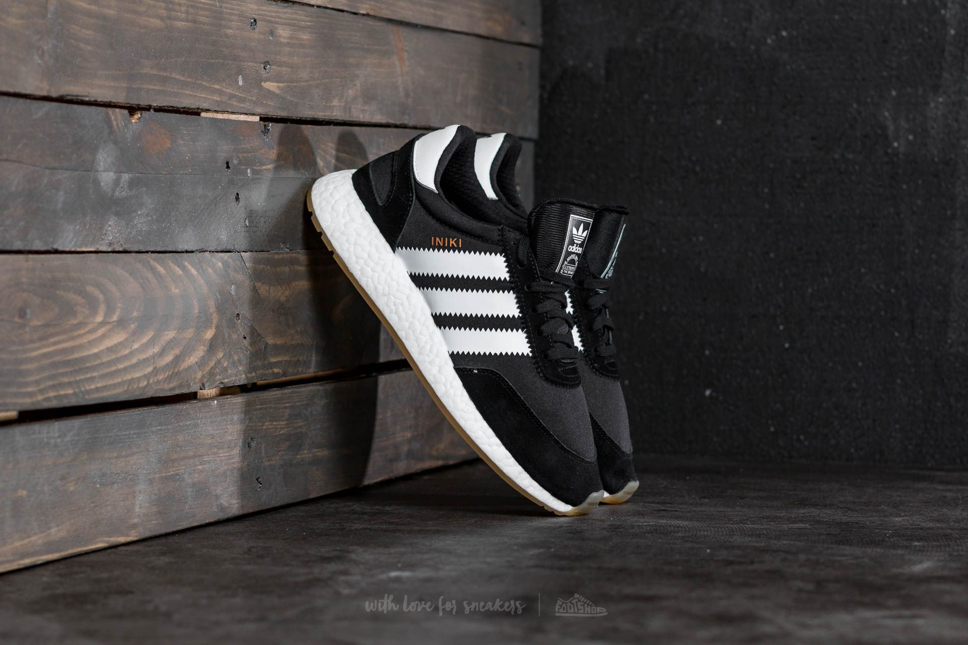 adidas Iniki Runner Core Black  Footwear White  Gum  46af28282