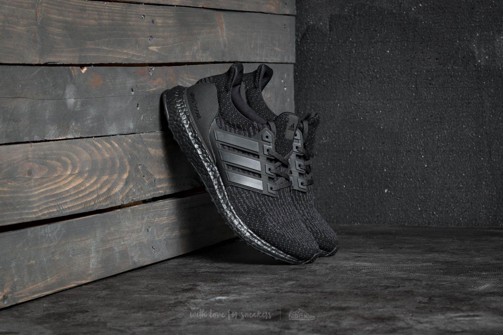 5d1321b9921cf adidas UltraBoost 3.0 Triple Black