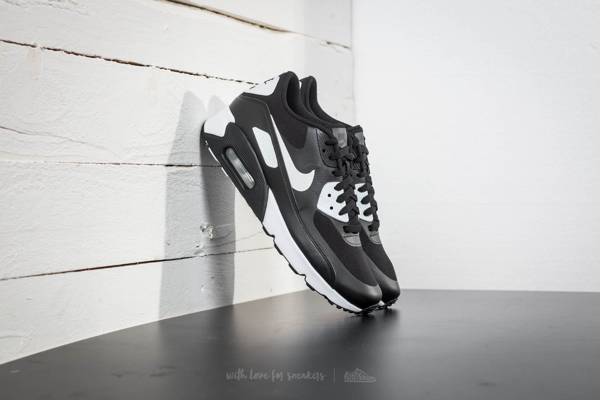 Nike Air Max 90 Ultra 2.0 Essential Black  White-White  217cde1a88