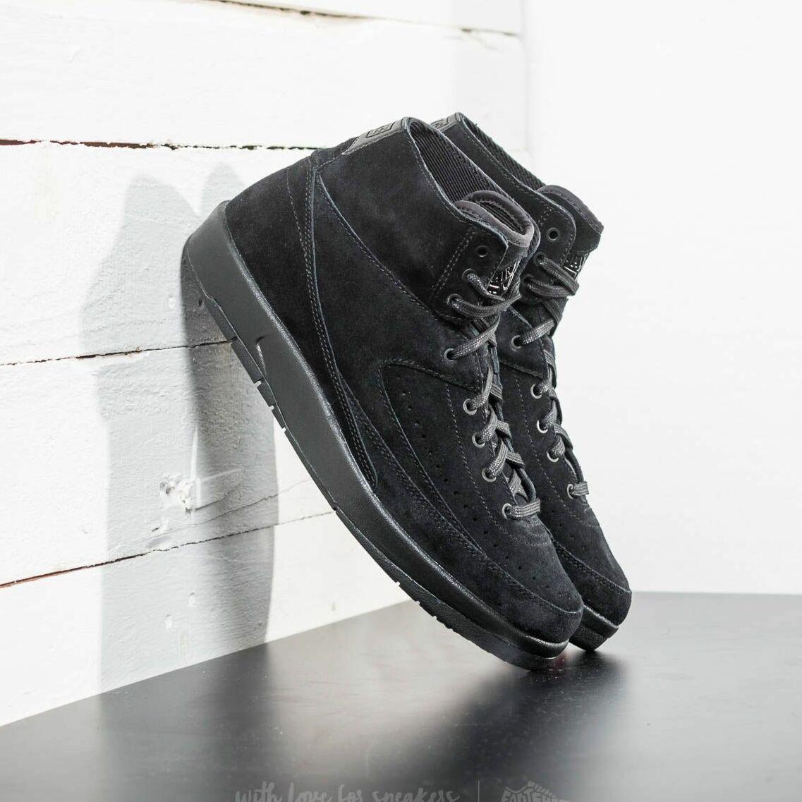Air Jordan 2 Retro Decon Black/ Black EUR 44